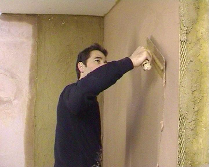 2nd coat of plaster