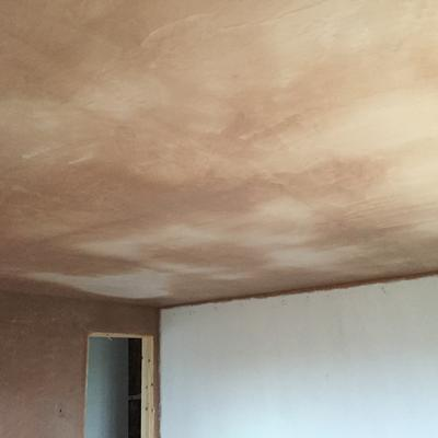 adjoining walls ceiling