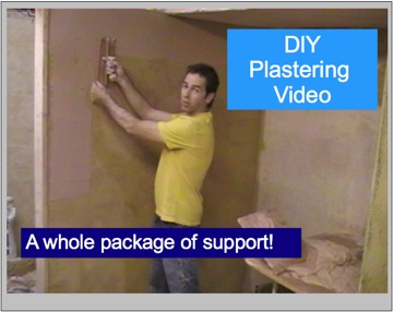plastering skills video