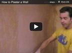 How to Plaster