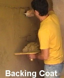 applying lime plaster