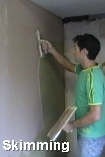 plastering course skimming